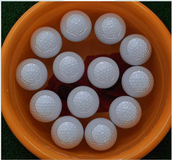 LOGO in high quality GOLF GOLF ball floating ball game(China (Mainland))