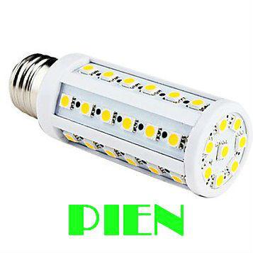 Wholesale 5050 SMD LED E27 8W 44 LED Corn Light Lamp Bulb 220V warranty 2 years CE ROHS by DHL 50pcs/lot