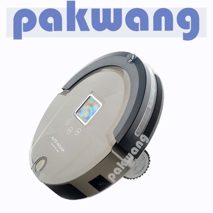 Robot Vacuum Cleaner,Multifunction(Sweep,Vacuum,Mop,Sterilize),LCD,Schedule,floor cleaning machine(China (Mainland))