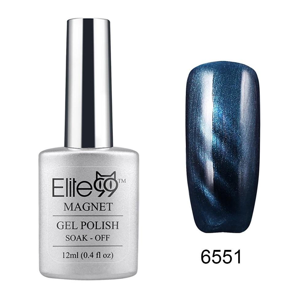 1 шт. длительный гель лак для ногтей Elite99 кошачий глаз 3D волшебный ногтей замочить от уф-гель из светодиодов маникюр польский Salon12ml 1429157