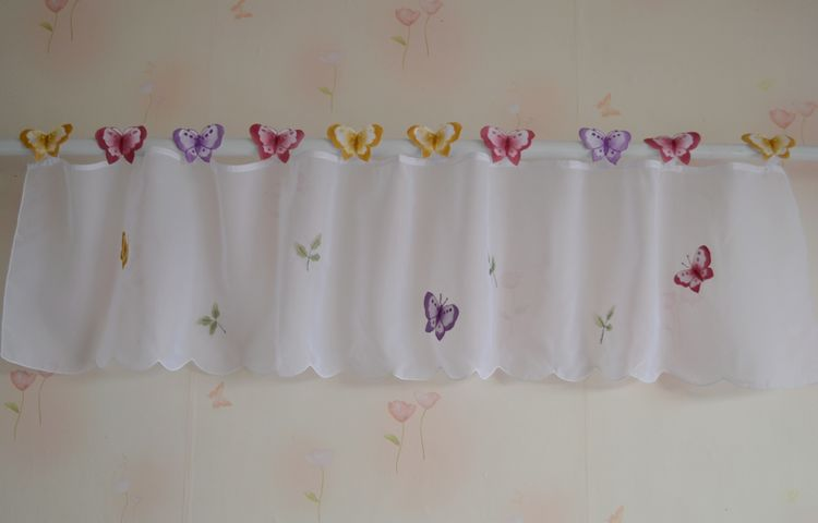 Curtains Butterflies Picture More Detailed Picture About