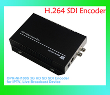 Original OPR-NH100S H.264 3G HD SD SDI Encoder for IPTV Live Stream Broadcast by RTMP HTTP RTSP for Wowza Media Free Shipping(China (Mainland))
