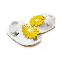 Summer Baby Girls Sandals Shoes Skidproof Toddler Infant Children Kids Flower Shoes(China (Mainland))