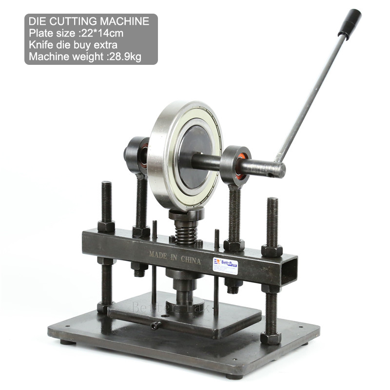 die cutting machine leather