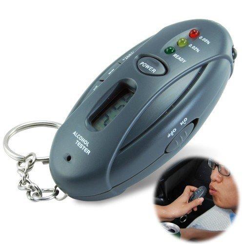 LED Digital LCD Alcohol Tester Analyzer Alcohol Breathalyzer Breath Tester Dropshipping(China (Mainland))