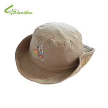 Children Boys Sun Hats Spring Summer Caps Cotton Bucket Hat Baby Kids Boy Cool Tractor Cap New Fashion Free Drop Shipping 6M-6Y(China (Mainland))