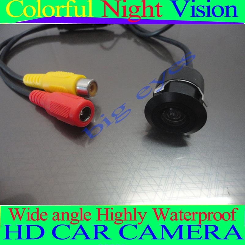 Factory selling Mini Waterproof Night Vision for Universal Car Rear Car Reverse Camera Rearview Backup Color Camera(China (Mainland))