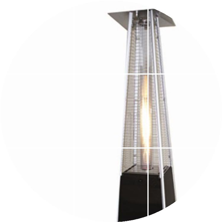 column of flame gas heater outdoor patio heaters liquefied natural gas heater - Natural Gas Patio Heater