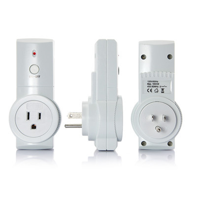 US Stock DBPOWER Wireless Remote Controlled Socket US Plug 3 Remote Controlled Socket Outlet Adapter freeshipping(China (Mainland))