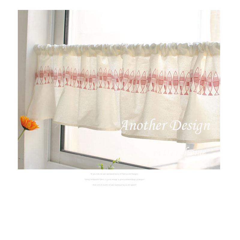 Bathroom cafe curtains