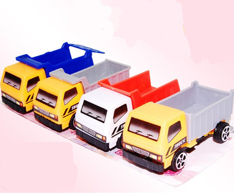 Mini New Engineering Vehicle Autotruck For Kids Toys Gift Transport Machine Sliding Car Truck Model Children's Educational Toys(China (Mainland))