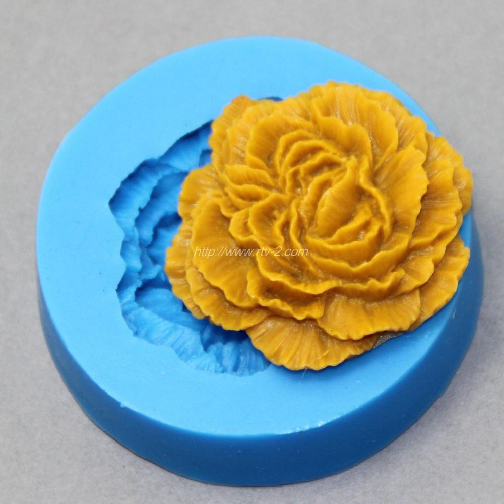 Flower Shape 3D Silicone Fondant Mold Cake Decoration Tool Food Grade Material(China (Mainland))