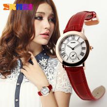 Women Watch SKMEI 1083 Fashion Dress Waterproof Wates Analog display Quartz Movement Wristwatches