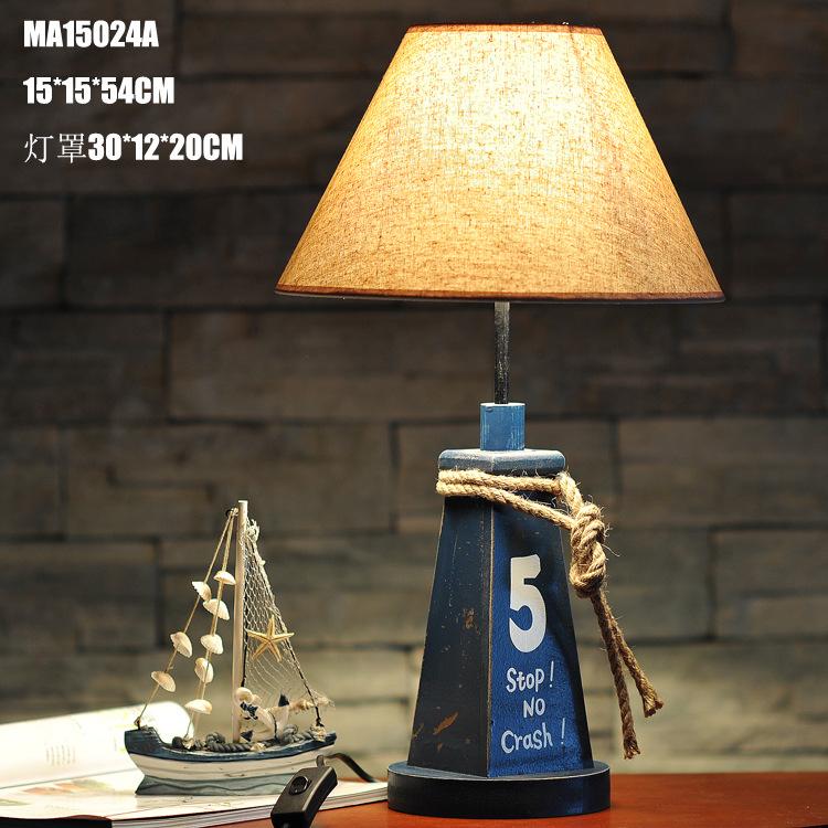 Фотография Free Shipping 2015 New Mediterranean Style Home Furnishing Antique Decorative Lamp