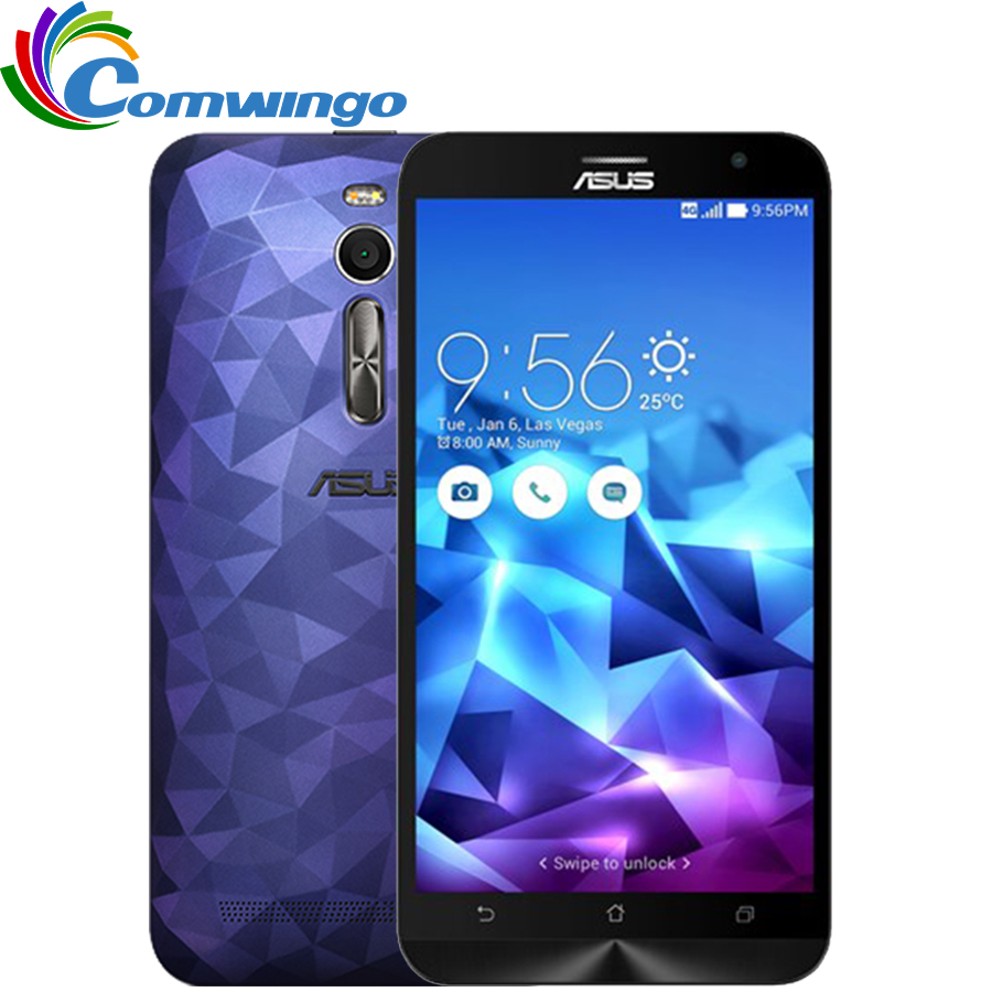"""Original Asus ZenFone 2 Deluxe ZE551ML 4GB RAM 32G&64G ROM 4G LTE Intel Z3580 2.3Ghz 64Bit Quad Core 5.5"""" FHD Android 5.0(China (Mainland))"""