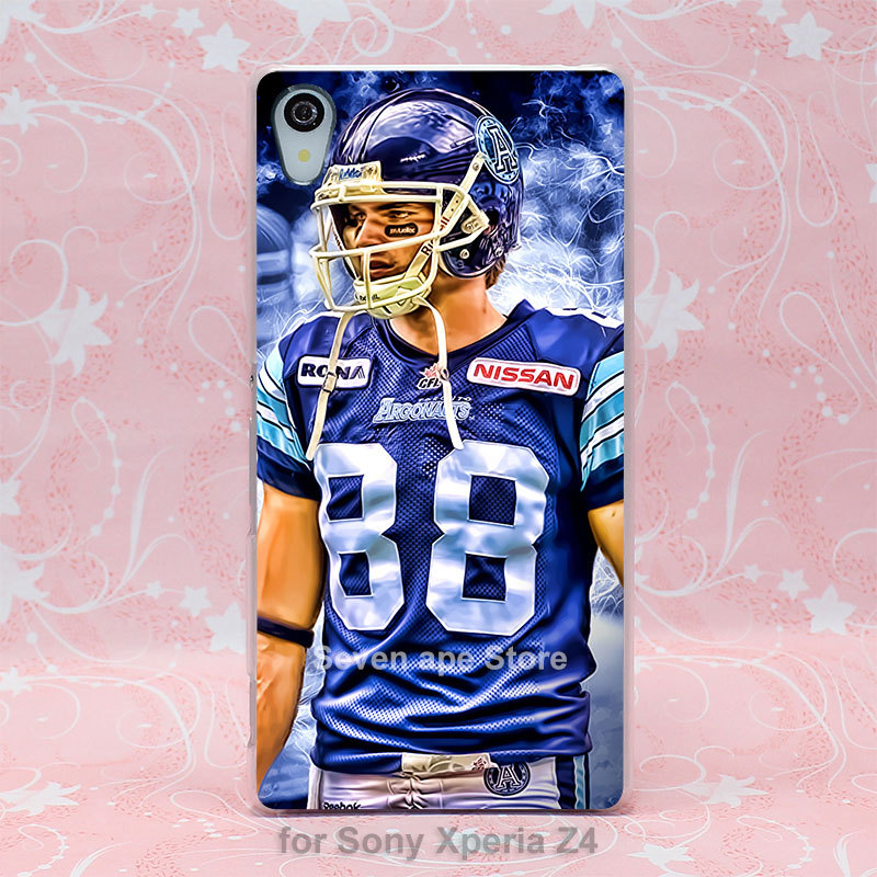 tumblr Mike Bradwell Toronto Argos Pattern hard transparent clear case cover for Sony Xperia Z2 Z3 Z4(China (Mainland))