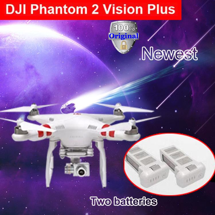 DJI Phantom 2 Vision plus with extra original Battery GPS Drone RC Quadcopter 5.8G Radio FPV Camera 3 aix gimbal RT via EMS(China (Mainland))