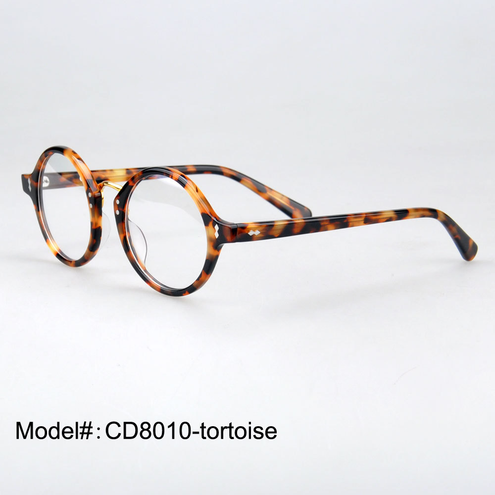 Glasses Frames Rx Optical : CD8010 Free shipping Italian high quality ROUND acetate ...