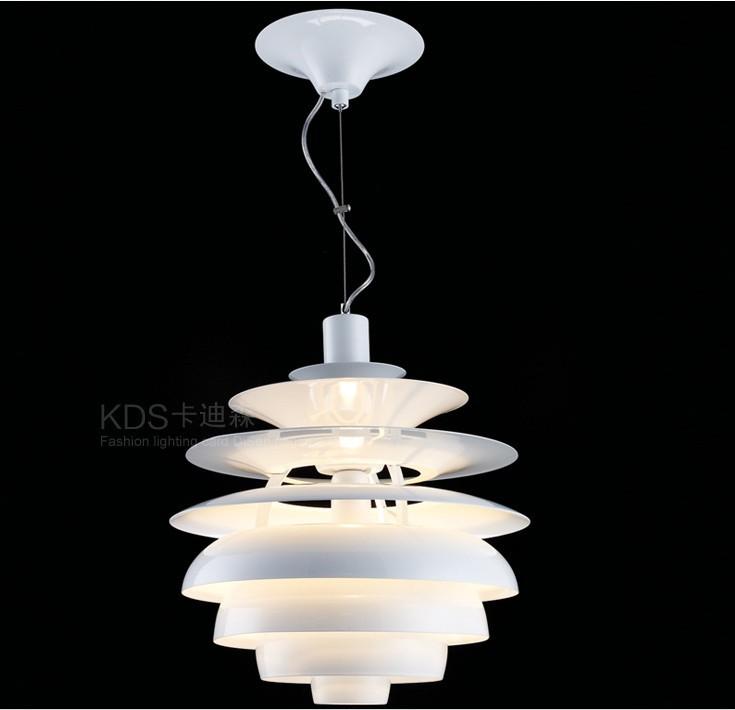 40cm white color aluminium lamp lighting designer louis poulsen ph snowball lamp denmark modern. Black Bedroom Furniture Sets. Home Design Ideas