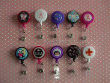 Prestige Medical Retractable Badge Holder * 19 DESIGNS * S13 ID TAG-B1(China (Mainland))