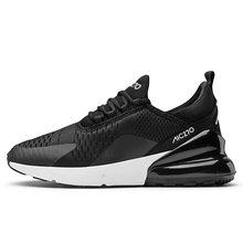 2019 Yeni Varış Erkekler Spor Ayakkabı hava yastığı spor ayakkabılar Kadın koşu ayakkabıları unisex Nefes Hava Mesh Açık Yürüyüş Eğlence(China)