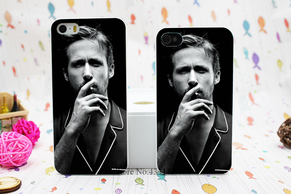 Laser Technology Ryan Gosling Style Hard White Skin Case Cover for iPhone 5 5s 5g(China (Mainland))
