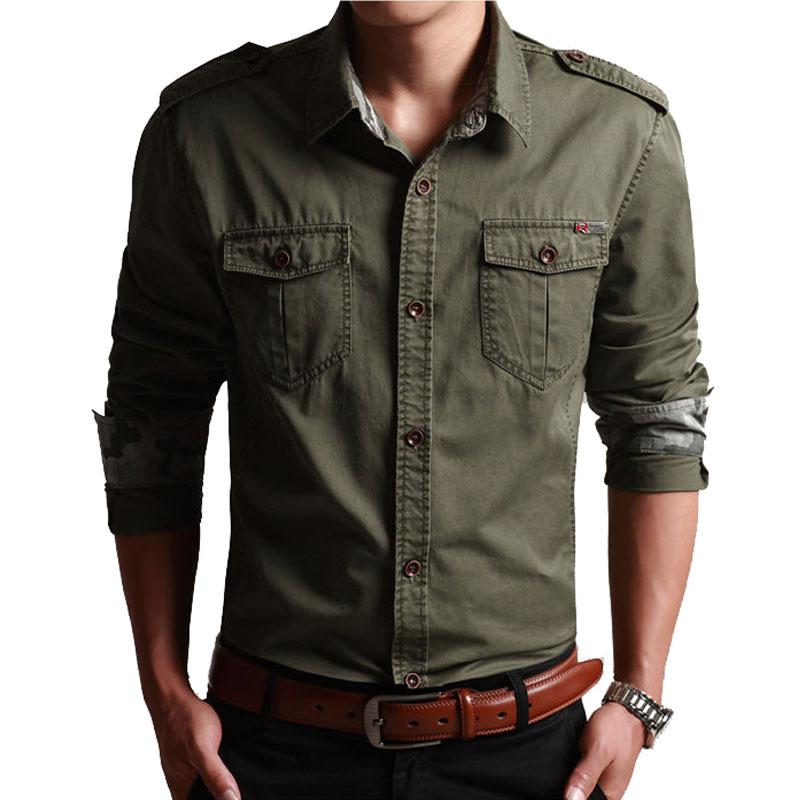 Мужская повседневная рубашка M/4xl