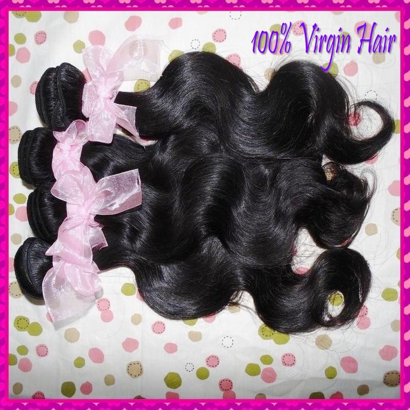 10pcs Wholesale bulk price list 8A Mongolian Unprocessed Virgin hair body wave weave bundles 1kilo free shipping(China (Mainland))