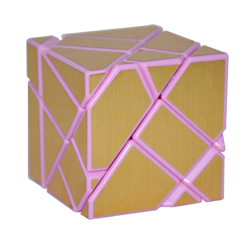 Magic Cube,FangCun,challenge gifts,Puzzle cube,Educational toys,three colors,pink border,high quality,strange-shape,Fisher Cube(China (Mainland))