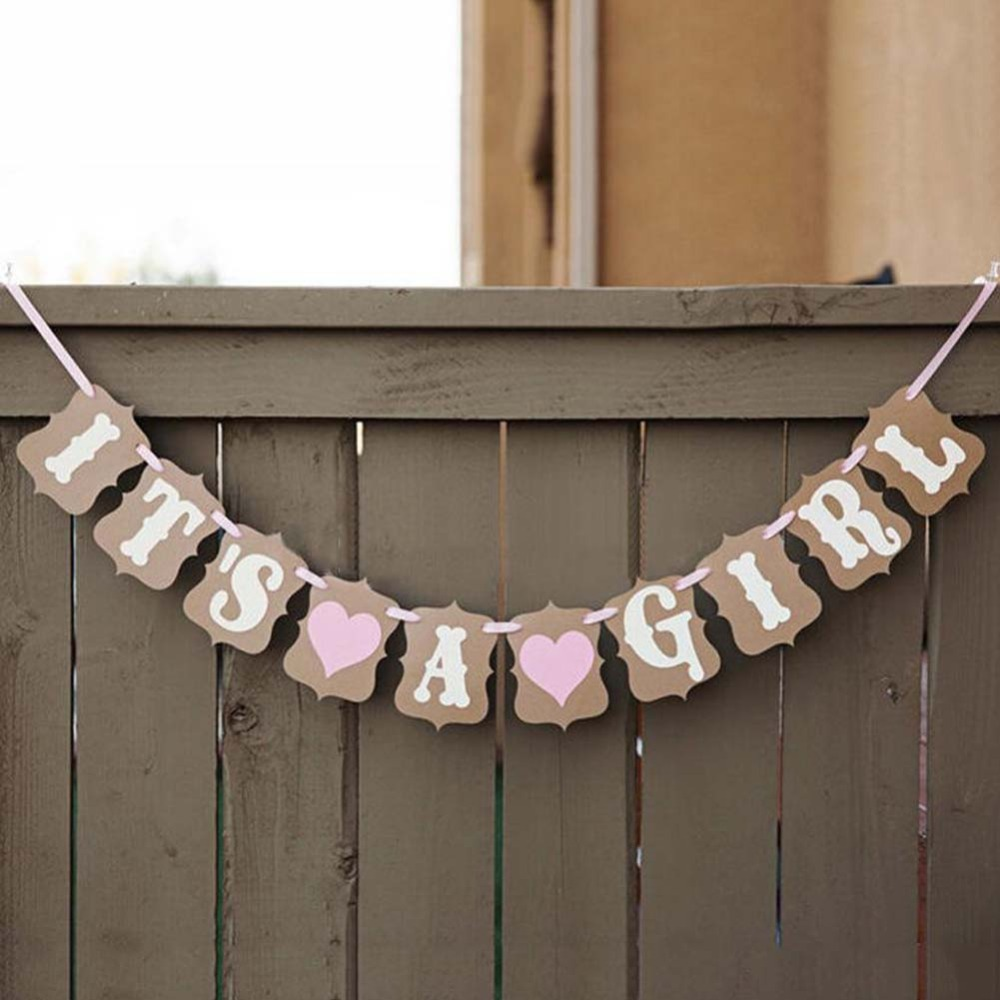 2015 it s a girl baby girl baby shower party decoration for It s a girl dekoration