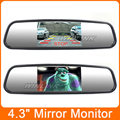 Universal 4 3 Color TFT LCD Display Screen Car Parking Rear View Reverse Mirror Car Monitor