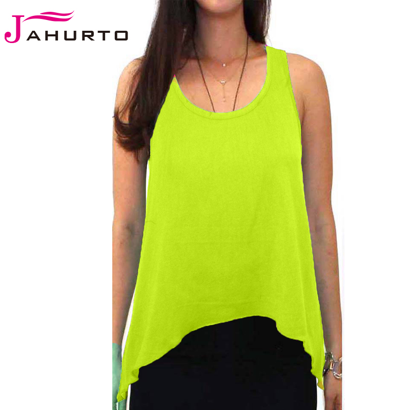 2016 Irregular Hem Women Plus Size Tank Tops Crewneck Casual Candy Color Sleeveless Long Knitted Tops(China (Mainland))