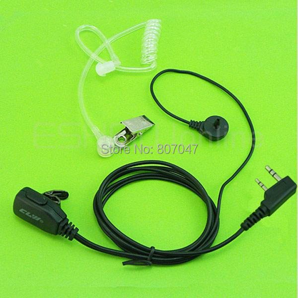 CLW Air Acoustic Earpiece Headset Kenwood TH-42 D7 TK378 PUXING Walkie talkie two way CB Ham Radio C0049A - Li jia shops store