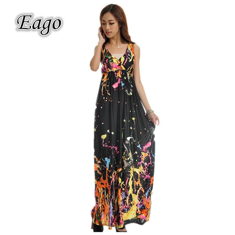 Casual maxi dress plus size