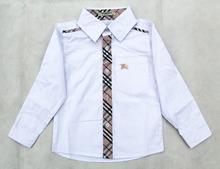 2015 Boys Brand Shirts Kids Brand Plaid Shirt Children Cotton Long Sleeve Shirts Boy England Style shirt Retail