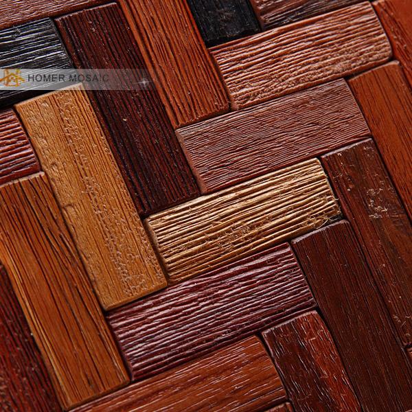 buy 100 natural wood tiles backsplash