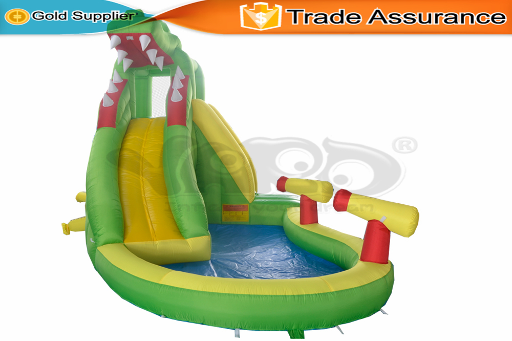 YARD Inflatable Slide Water Park Swimming Pool Kids Gift Bounce Castle(China (Mainland))