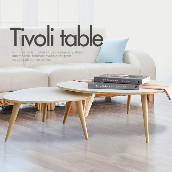 Table basse scandinave doccasion for Table salon style scandinave