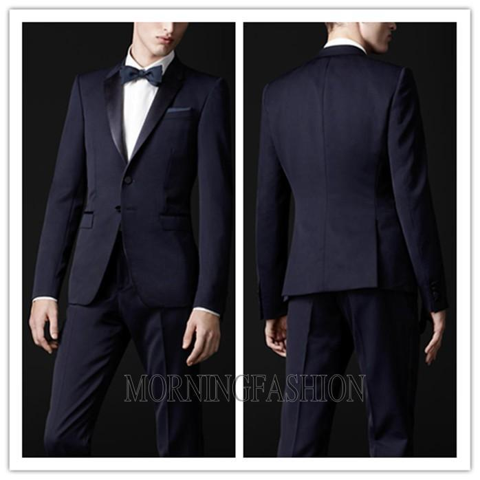 New Arrival 2015 New Design High Quality Fashion Wedding Men Suits Brand Slim Fit Bridegroom Suits Luxury Tuxedo Suits