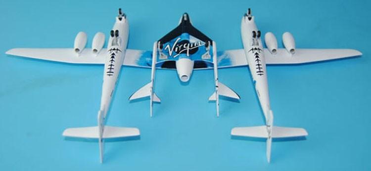 Advantageous JC Wings 1: 200 Virgin Galactic N339SS Assortment mannequin