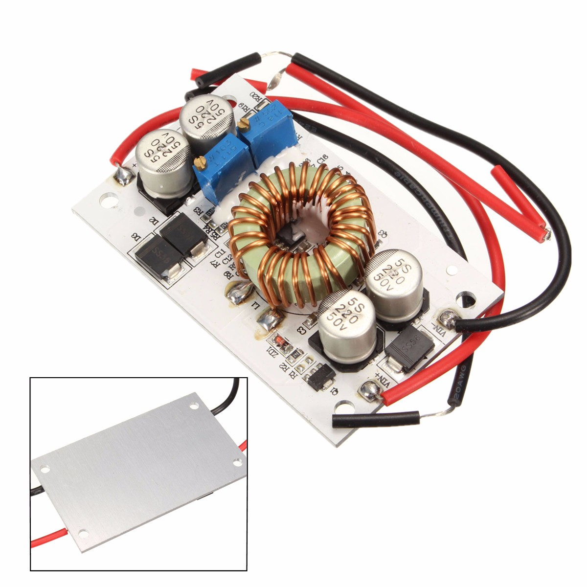 250W Adjustable DC-DC Boost Step-up Constant Current Power Supply 10A LED Driver Hot New Arrival High Quality Modules Board(China (Mainland))