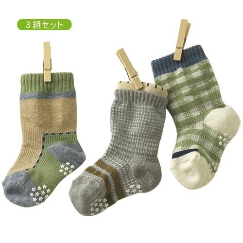 3PCS 2015 New Born Baby Boy Socks Kids Walker Socks For Children With Rubber Soles Clothes Cotton Non Slip Anti Slip For Babies
