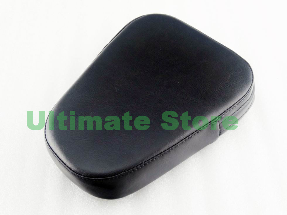 Motorcycle Rear Sissy Bar Black Triangle Backrest Synthetic Leather Cushion Rest Pad For Harley Cruiser Chopper Bobber Custom<br><br>Aliexpress
