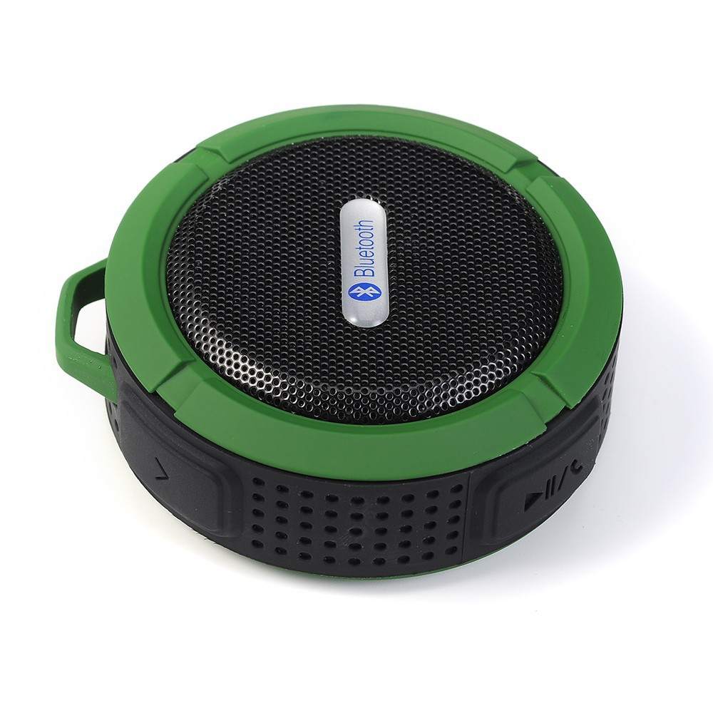 Wireless Portable Waterproof Bluetooth Speaker V3.0+A2DP ISSC Stereo Bass Shower Outdoor Car Speaker with Suction Cup IPX5(China (Mainland))