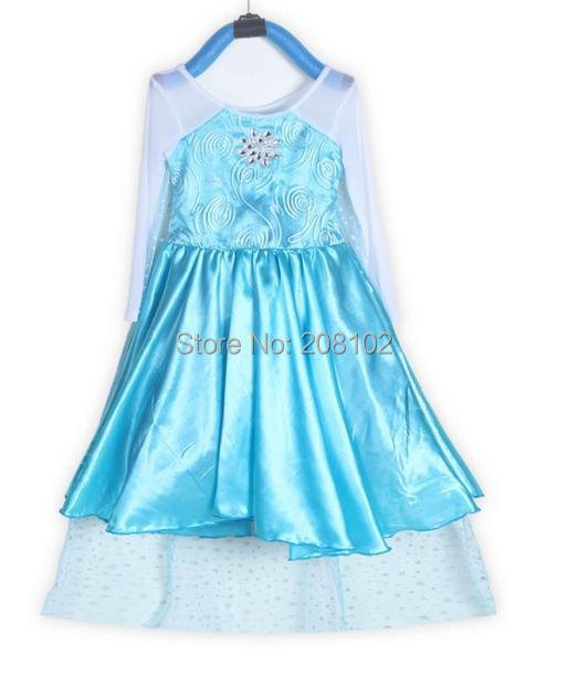 Style Girls Dress Elsa beautiful Fashion princess Children's Halloween Party Clothing - Anime Cosplay Bikini Store store