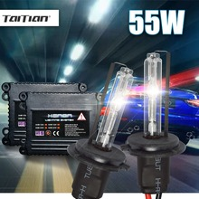 Buy 2Pcs Hid Xenon ballast+Canbus Xenon Blub 55W 12V 6000K Lamp H7 xenon hid headlight kit H1 H3 H11 fog light 9005 9006 hb4 bulb for $24.82 in AliExpress store
