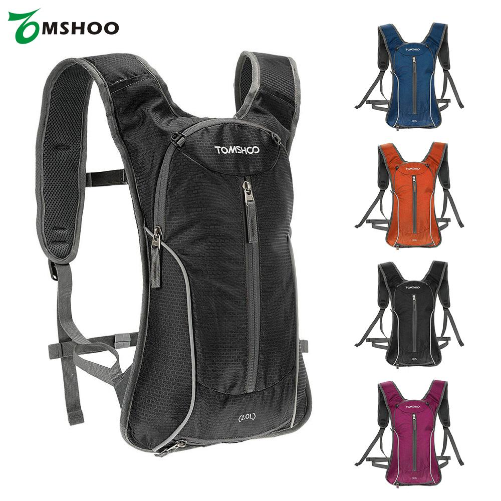 TOMSHOO 2.0L Outdoor Bag Water-resistant Outdoor Cycling Bike Bicycle Backpack Sport Bag Running Riding Travel Hiking Backpack(China (Mainland))
