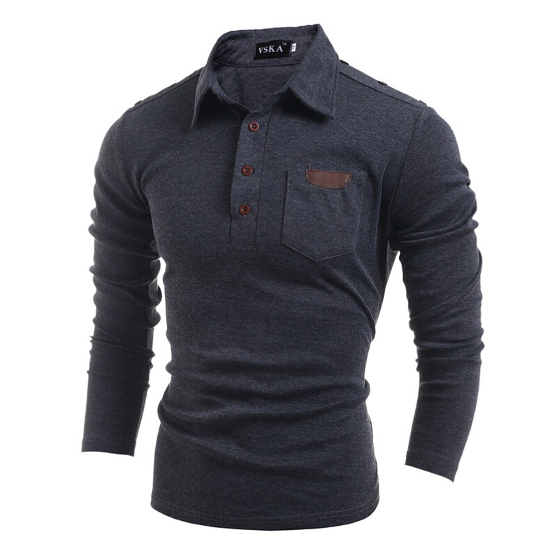 Men Sweater Solid Color Cotton Knitted Turn Down Collar 2016 Thick Winter Fashion Casual Pullovers Full Sleeves Men Sweater(China (Mainland))