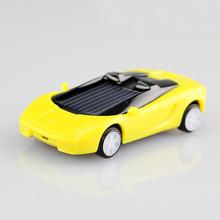 1 Pcs Random Color Mini Plastic Solar Power Toy Car Solar Toy for Kids Children Educational Gadget Trick Novelty Solar Car Toy(China (Mainland))