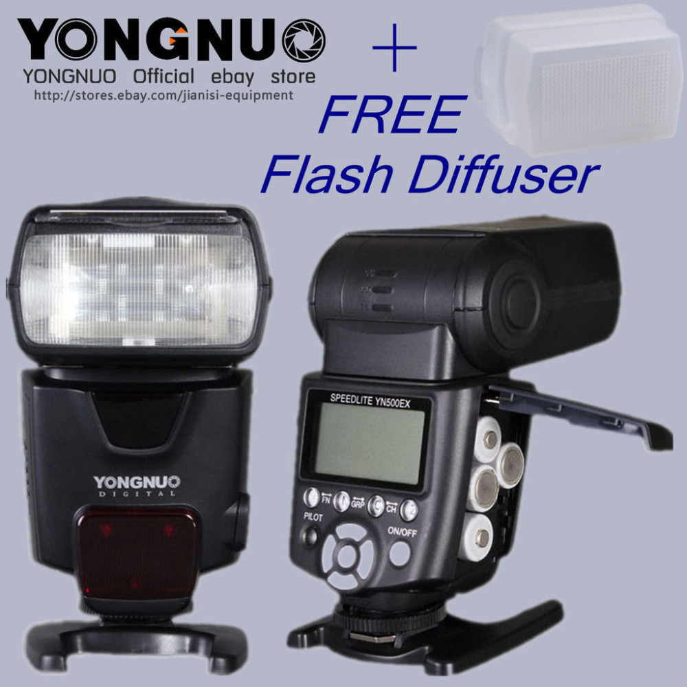 Здесь можно купить  YONGNUO YN500EX YN-500EX GN53 E-TTL 1/8000s High Speed HSS Portable Flash Speedlite for Canon 7D 6D 5D2 60D 650D 600D 550D 5D3 YONGNUO YN500EX YN-500EX GN53 E-TTL 1/8000s High Speed HSS Portable Flash Speedlite for Canon 7D 6D 5D2 60D 650D 600D 550D 5D3 Бытовая электроника